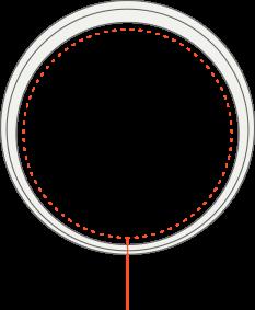 L dydžio AMBRIO apyrankė