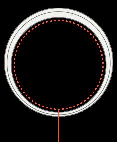 M dydžio AMBRIO apyrankė