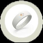 Baltos AMBRIO apyrankės ikona
